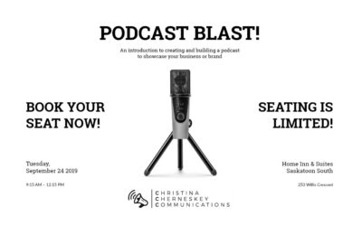 Sign up for my podcast workshop!