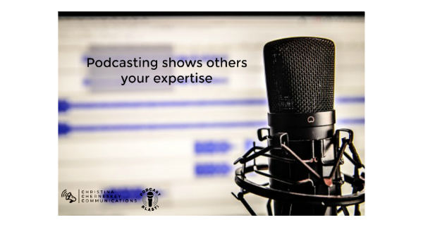 In a word, podcasting. It will change how people see your brand